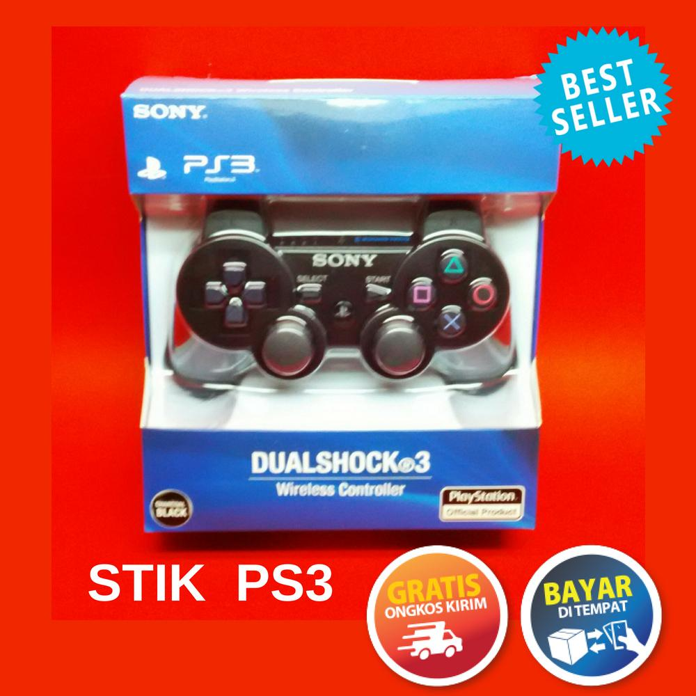 Jual Produk Playstation Online Terbaru Di Stik Ps 3 Original Pabrik Paling Murah Ps3 Wireless Controller Black