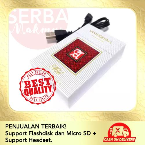 Mini Speaker Advan Advance Music Box Bentuk Rokok Sampoerna Portable