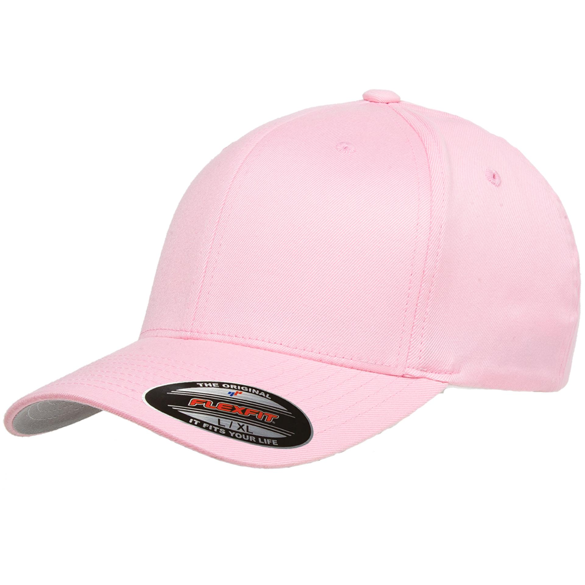 Topi Polos 6277 Flexfit Wooly Combed [Pink]