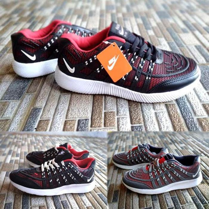 ORIGINAL!!! Sepatu Running Sport Nike Airmax Flyknit Skin - 3qD5jd