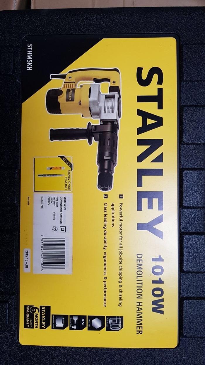 Promo  Stanley STHM5KH Mesin Jack Hammer Demolition Bobok Beton Tembok Cor  Original