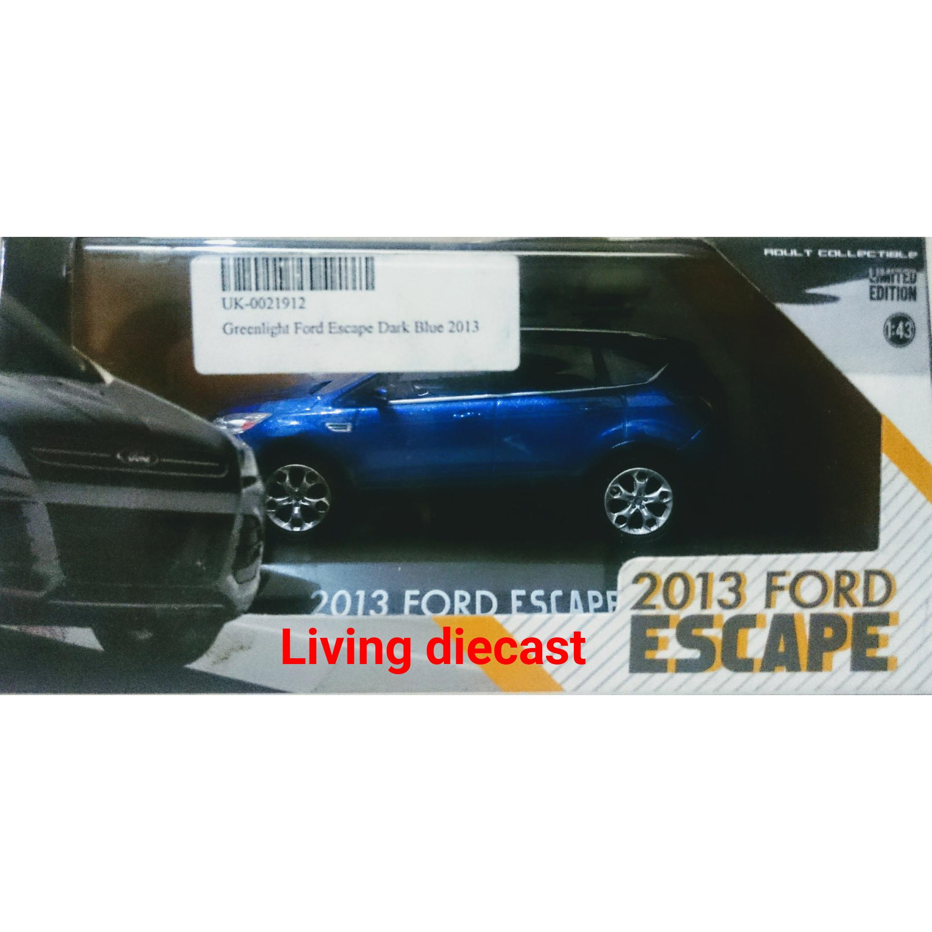 Diecast / miniatur Mobil - Ford escape (blue color)