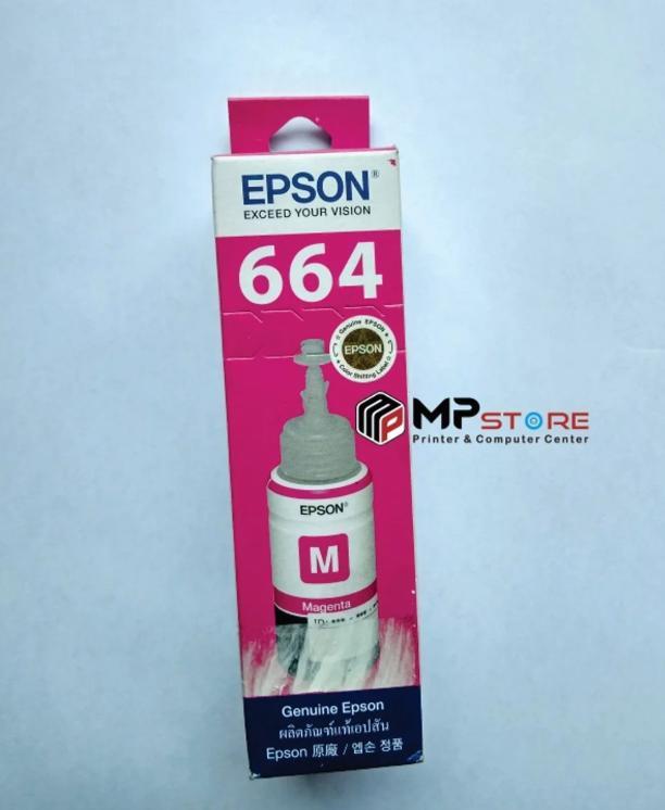 EPSON Tinta Original Magenta Printer L100 L110 L120 L200 L210 L220 L300 L310 L350 L355