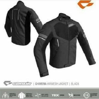 Jaket Motor Contin Chimera Black ( Original ) Murah