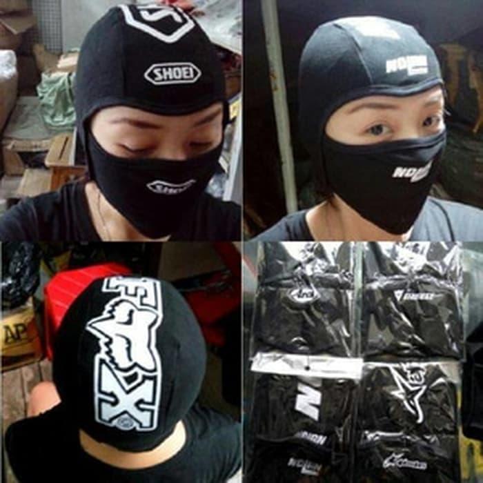 Kupluk topi helm - masker samurai fox alpinestar fox agv arai nolan