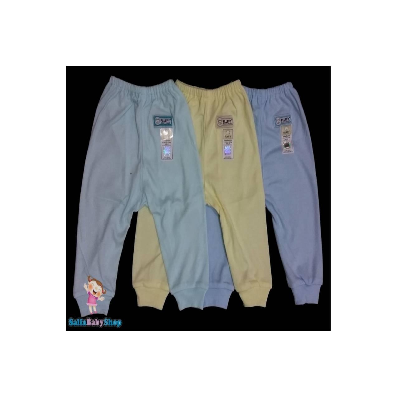 Celana Bayi Fluffy Size 0-3 Bulan (Lusinan)
