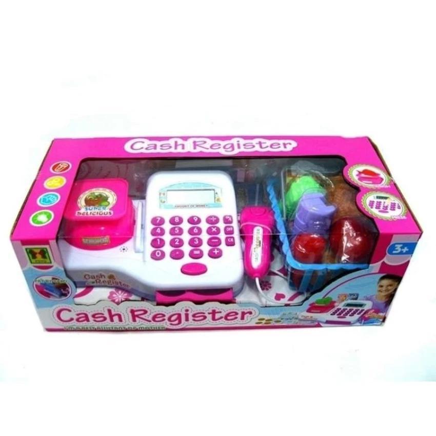 BB Mart Cash Register Pink BO Mainan Mesin Kasir Anak