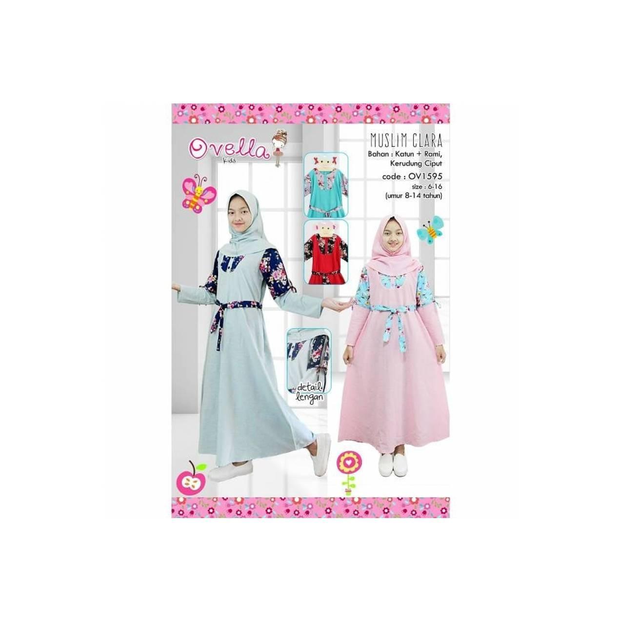 Gamis anak tanggung ABG remaja fashion brandet muslim
