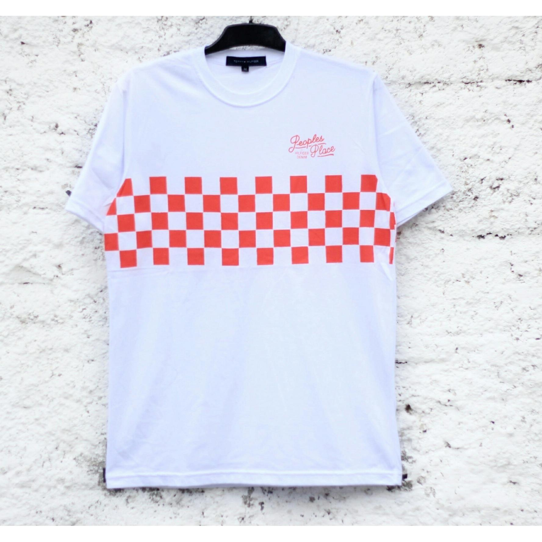 Tommy Hilfiger Checkerboard Tshirt White