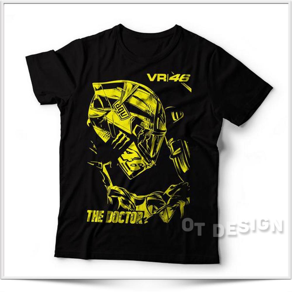 Kaos Baju Distro Best Seller !! Kaos VR46 Rossi ( Vr46 Vr 46 Vale 46, The Doctor, Vr46 , Kaos Distro, Motogp , Race ) OT Design
