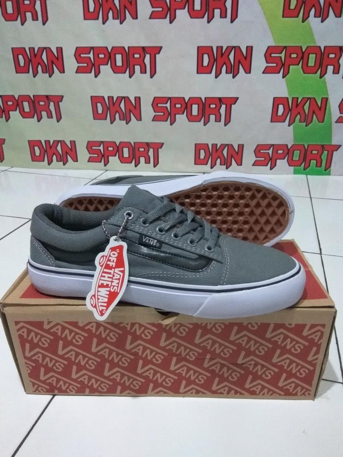 ORIGINAL!!! Sepatu Vans Old Skool Silver/Black