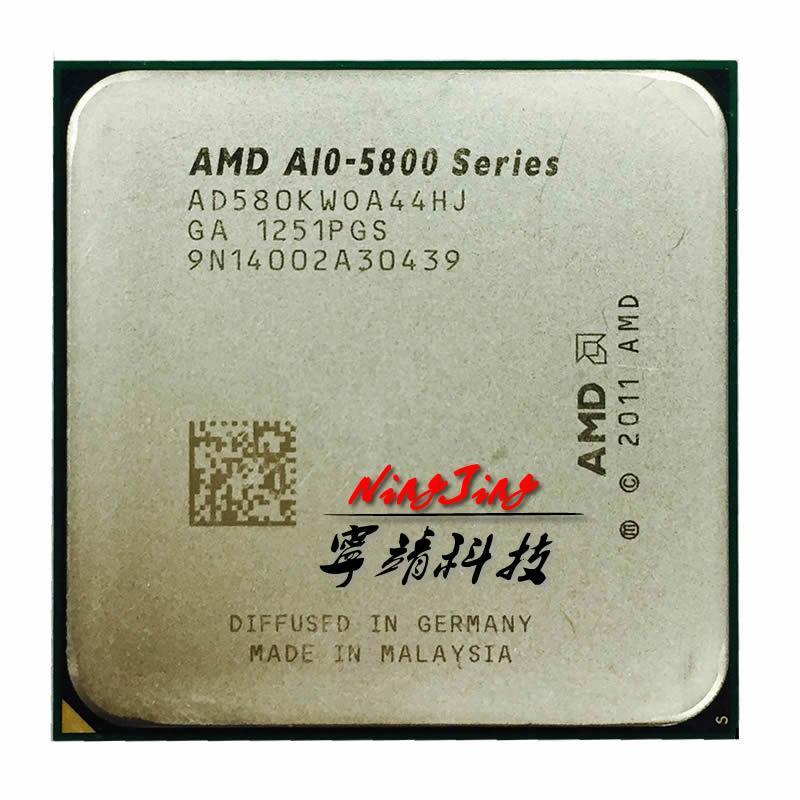 AMD A10-Series A10 5800 K A10 5800 Quad-Core Prosesor CPU AD580KWOA44HJ Socket FM2
