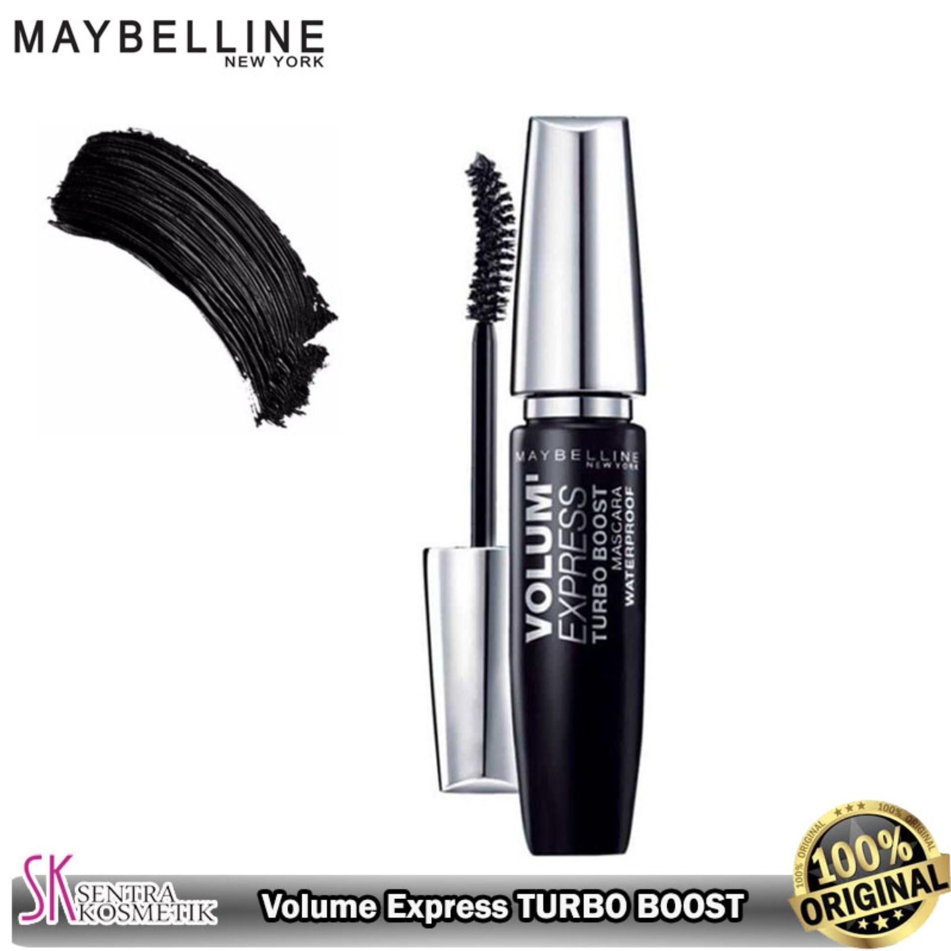 34d0b690a7d MAYBELLINE Volum Express TURBO BOOST Mascara Waterproof - Hitam