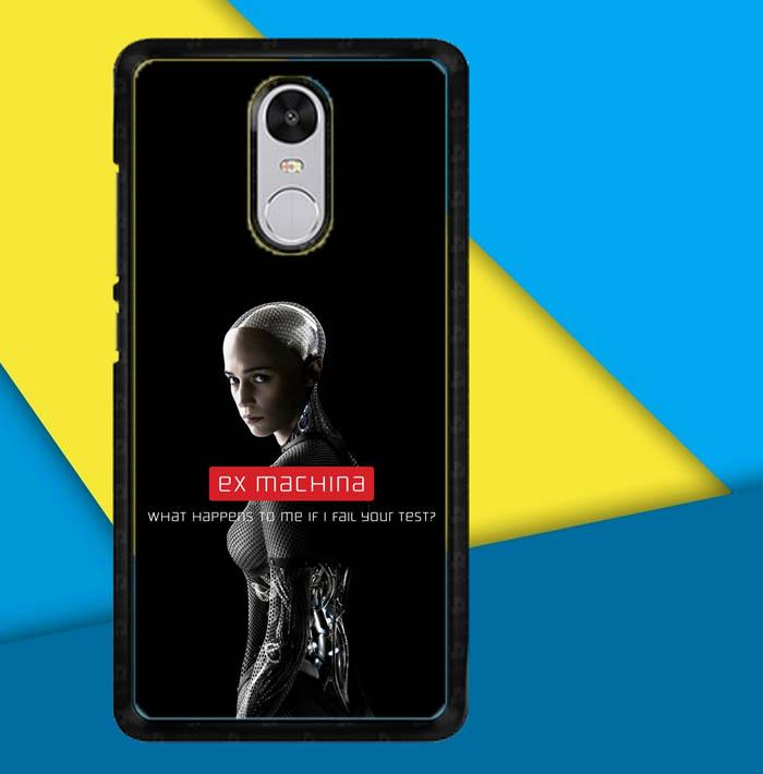 alicia vikander ex machina X6108 Casing Custom Hardcase Xiaomi Redmi 5 Plus Case Cover
