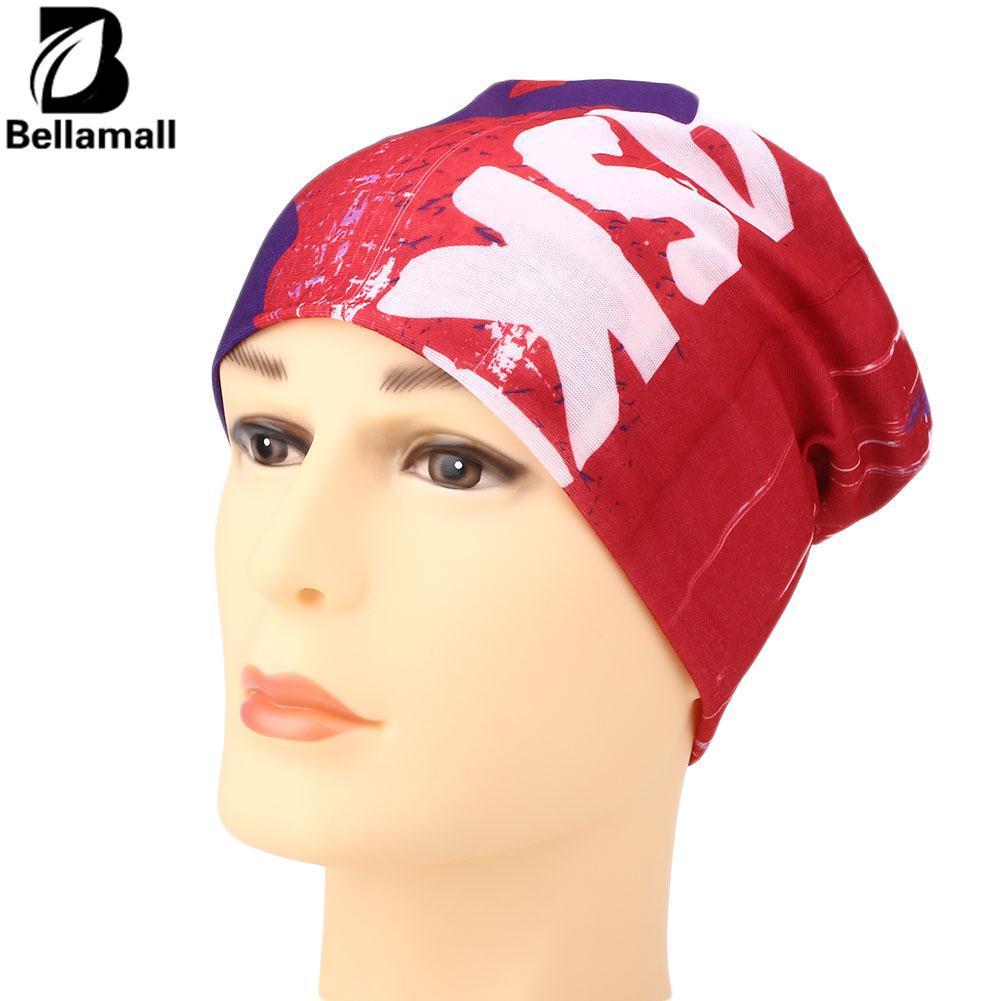 Bellamall: Anti Debu Masker Kepala Wajah Bandana Syal Leher Gaiter Jaring Rambut Hiasan Kepala untuk