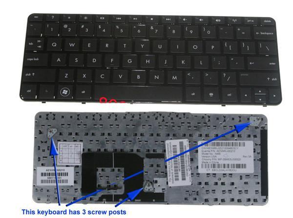 Keyboard HP Mini 210T Series (Netbook)