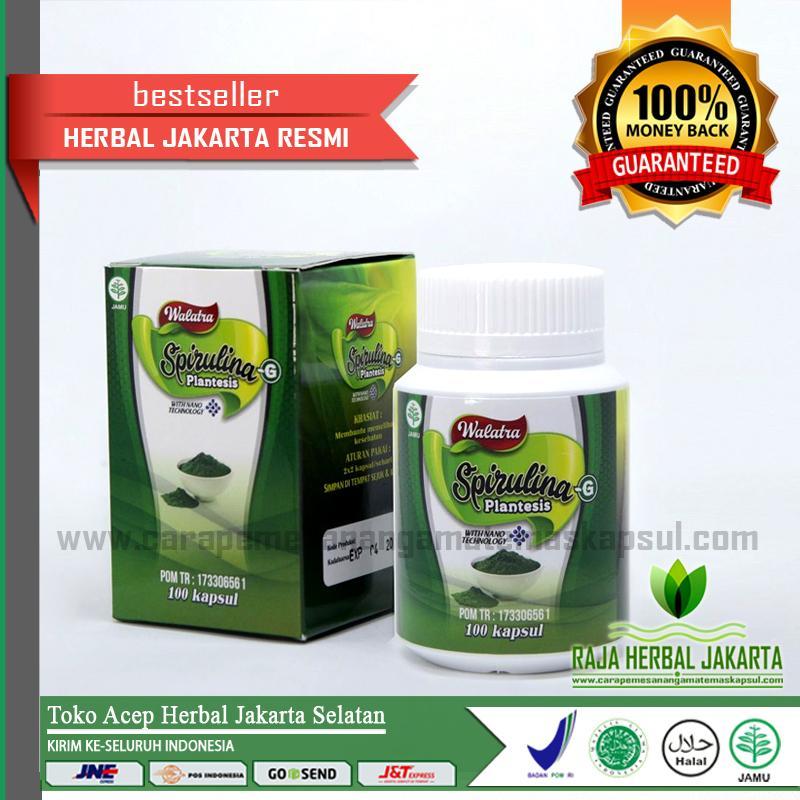 Walatra Spirulina -G Platensis Kapsul Isi 100 Terjamin Asli | Produk Original Jakarta Selatan