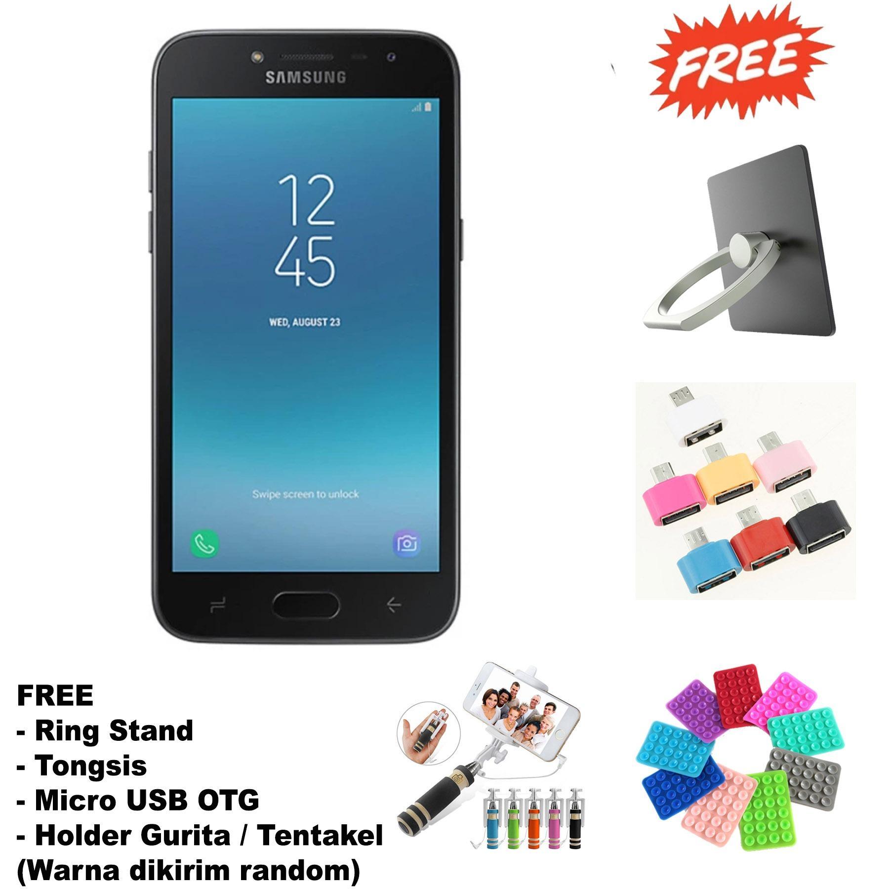 Samsung Galaxy J2 Pro 2018 - 2/32 - 8/5MP - Super AMOLED - Garansi Resmi - (Free 4 Item Accessories ) - Black