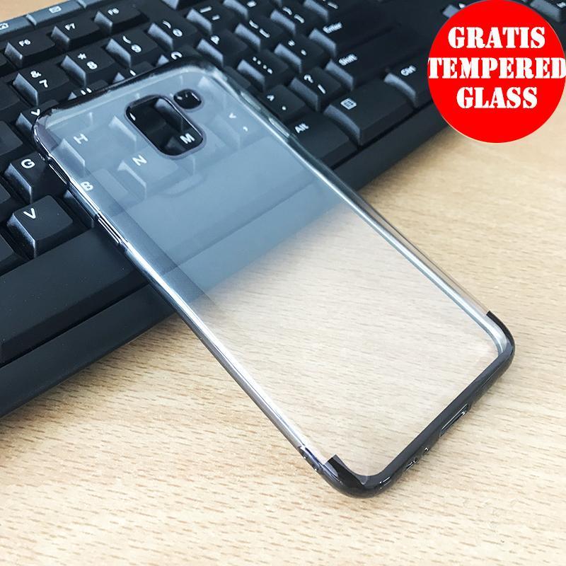 Weika Samsung J6 Shiny Transparen Bening Ultra Thin TPU Soft Case
