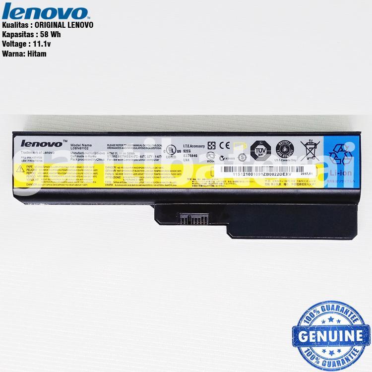 Original Baterai Lenovo 3000 B460, G450, G430, B550, G530, V460, Z360
