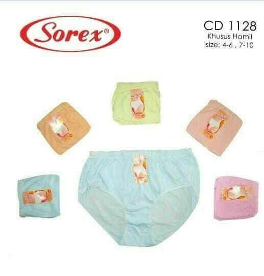 Celana Dalam Untuk Ibu Hamil CD 1128 Maxi Sorex Maternity Pants