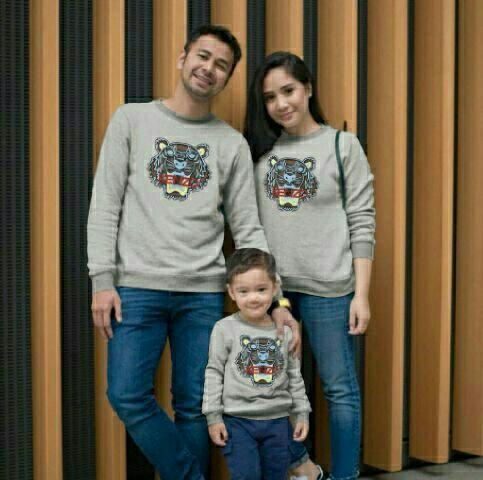 Kitty Fashion Couple Family / Kaos Couple Keluarga Terbaru / Baju Seragam / 3 In 1 Set By Kitty Fashion.