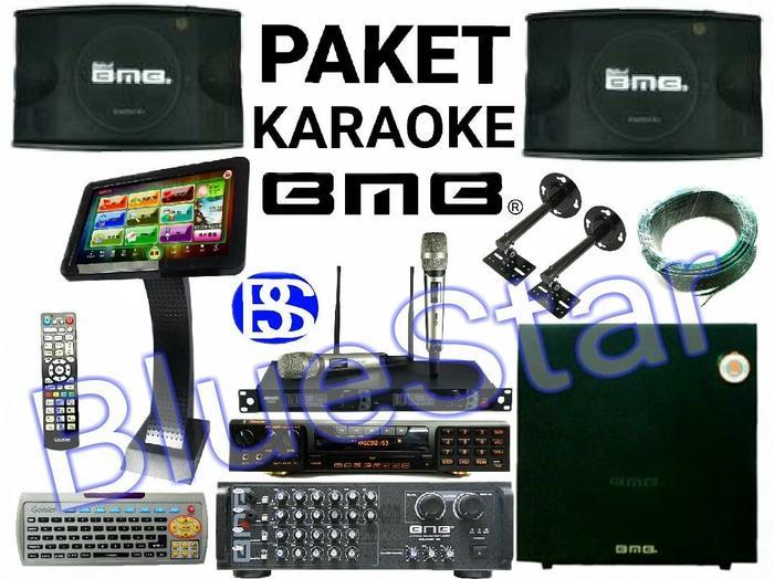 ORIGINAL  Paket Sound System Karaoke Room BMB CS 450 V (10 Inch)