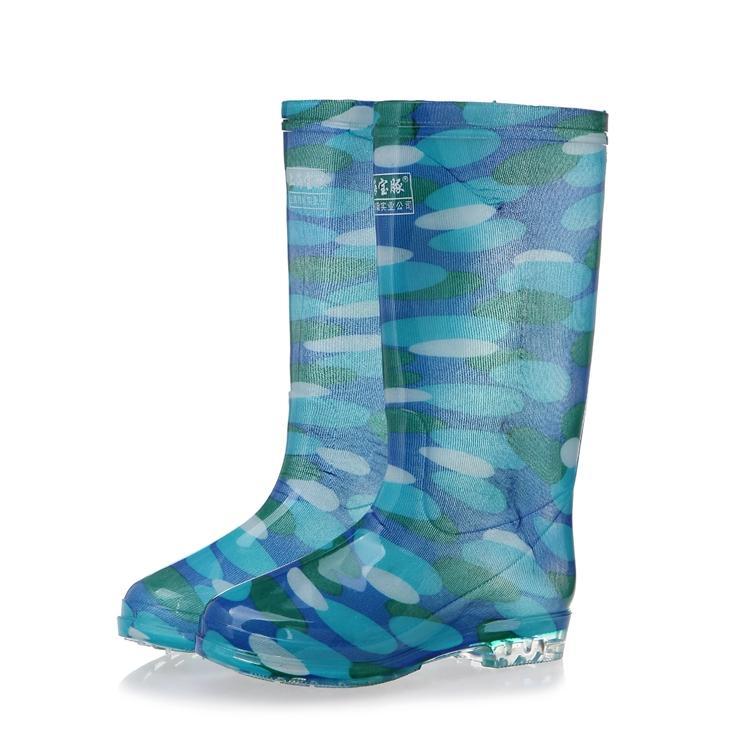 Pabrik Langsung Perempuan Gaotong Sepatu Kristal Sepatu Sepatu Tahan Air Anti Selip Sepatu Boots Hujan Pergelangan Kaki Tinggi Dapat Gaotong Bawah Tendon Sepatu Boots Hujan Wanita By Koleksi Taobao.