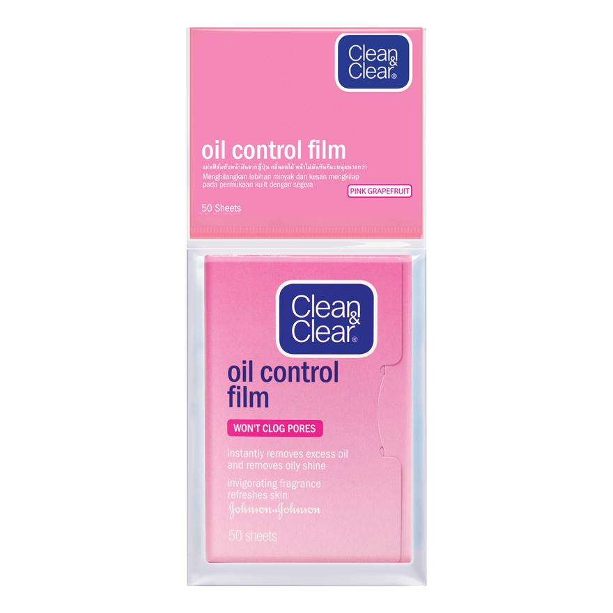Clean & Clear Oil Control Film Pink 50s By Watsons