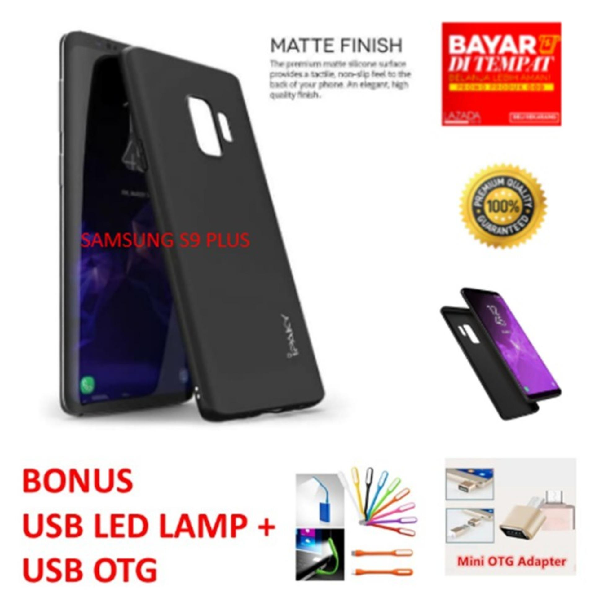 CASE HP SOFTCASE IPAKY SUPER SLIM MATTE ANTI FINGERPRINT HYBRID CASE FOR SAMSUNG GALAXY S9 PLUS