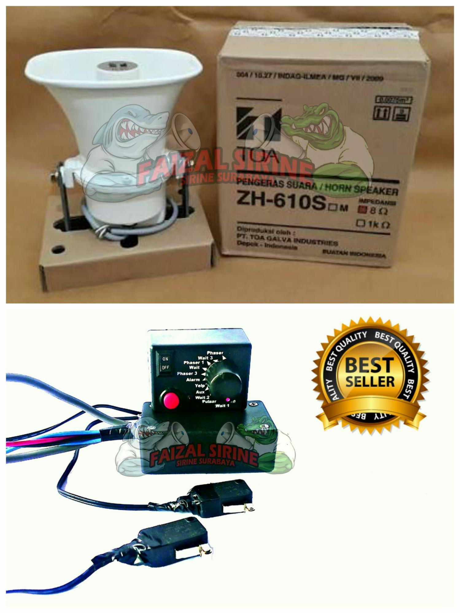 Jual Produk Klakson Online Terbaru Di Kapal Paket Modul Sirine 12 Suara Horn Speaker Toa Zh 610s