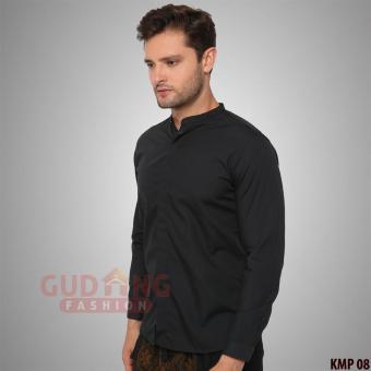 Pencarian Termurah Gudang Fashion - Baju Koko Lengan Panjang Hitam Polos harga  penawaran - Hanya Rp88 9a6da86149