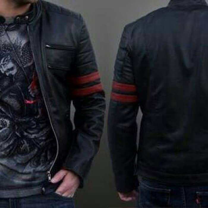 DISKON Jaket Wolverine/Jaket X-man/Jaket Semi Kulit TERMURAH