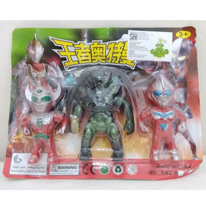 Mainan Action Figure Ultraman - Monster Chibi Set