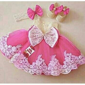 J&C Dress Princess Bandana / Gaun Pesta Anak / Baju Brukat Anak / Dress Brukat / Dress Anak / Mini Dress Anak / Midi Dress Anak / Baju Ulang Tahun Anak