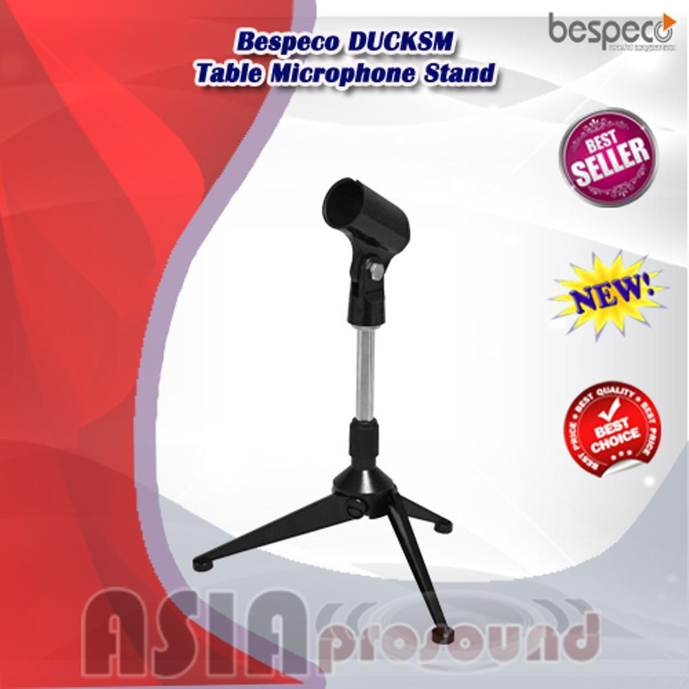 Stand Mic Meja Bespeco DUCKSM - Table Microphone Stand - Tripod Mini