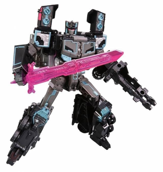 Promo Terbatas!! Takara Tomy : Transformers Lg-Ex Optimus Black Convoy - ready stock