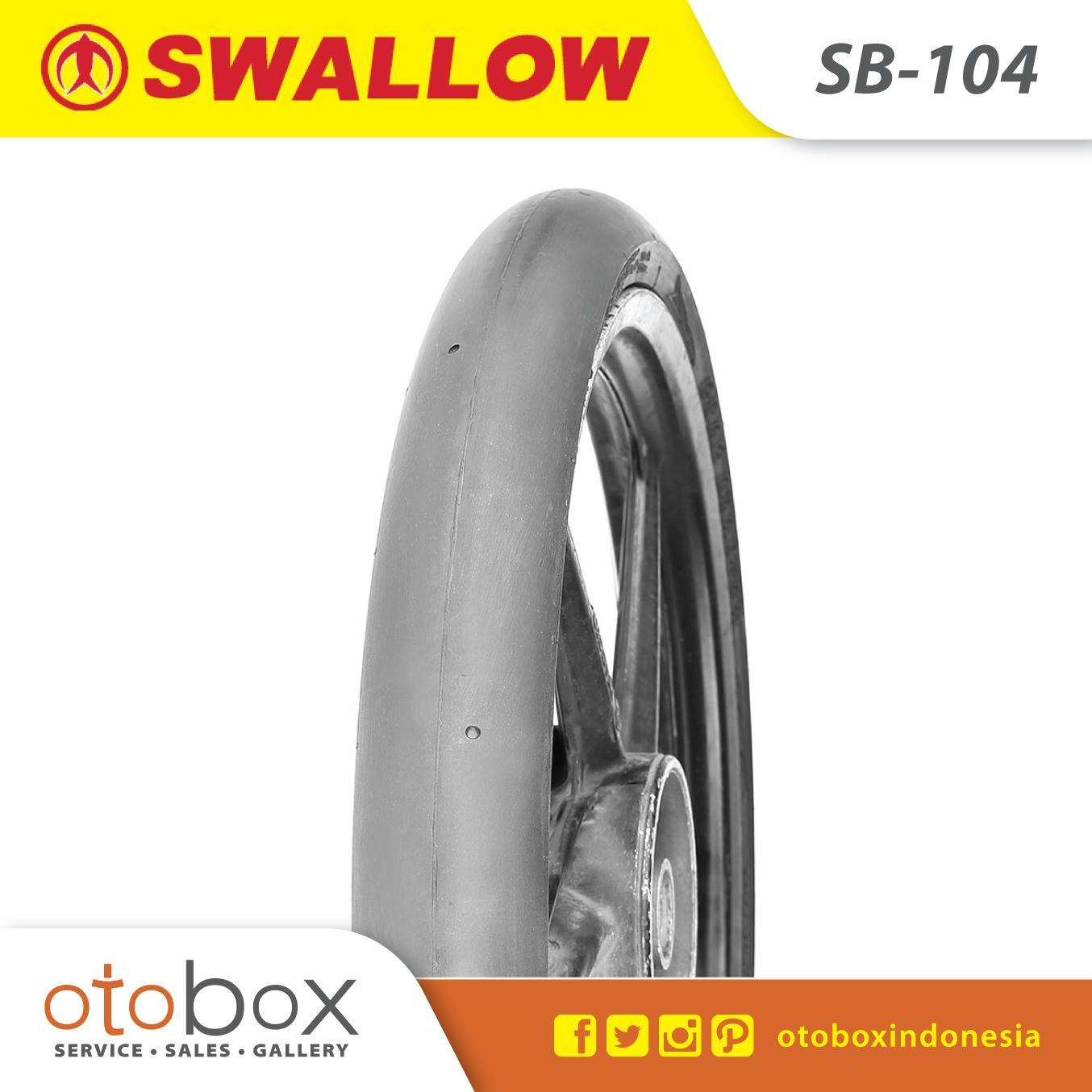 Ban Motor Swallow Tubeless 50/90-17 SB104 Drag Blaster TL