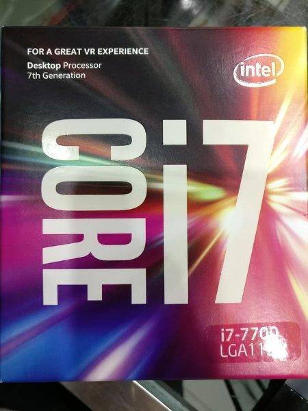 Free Ongkir Intel Core i7 7700   3.60 GHz processor   8MB Cache   LGA1151 19 Okt 2018