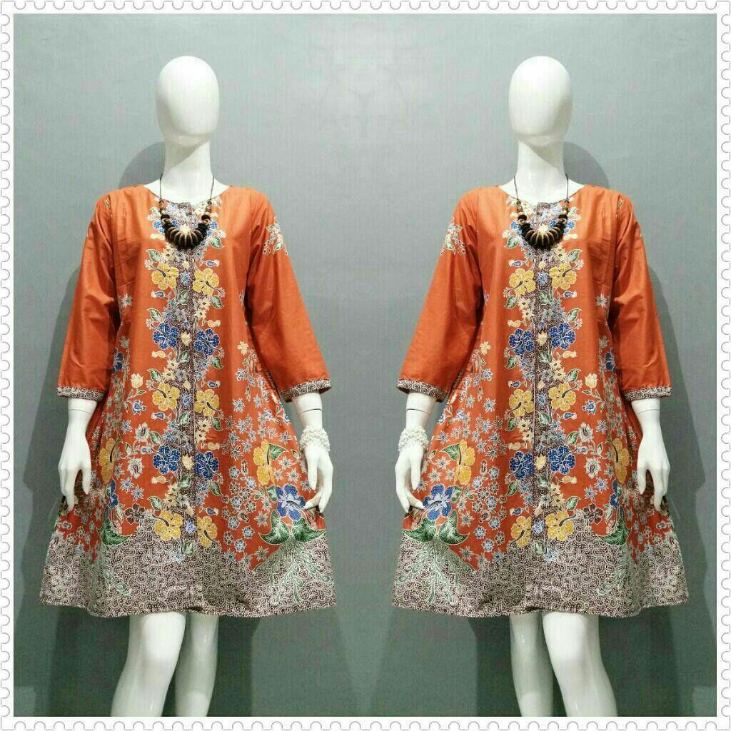 Atasan Wanita   Baju Batik Wanita   tunik   Baju Kerja   Seragam Batik    Baju beb182428e