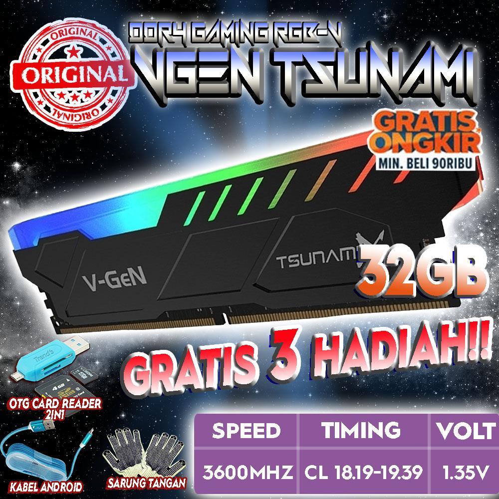 Ram Ddr4 Sodimm 4gb Pc170002133mhz Memory Laptop Vgen Daftar Harga Corsair So Dimm 16gb Pc19200 Cmsx16gx4m2a2400c16 2x8gb Original V Gen Tsunami 32gb 3600 Rgb Cl