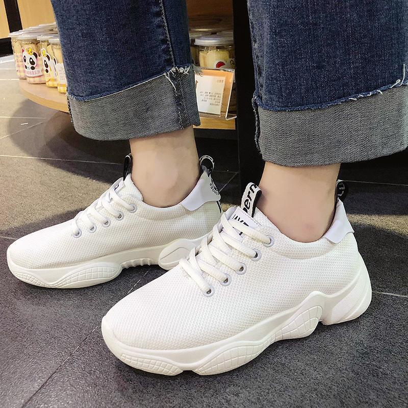 Kulit Renda Sol Tebal Sepatu Golden Source Musim Gugur atau Musim Dingin  Kasual Tambah Beludru Baru 50416ac755