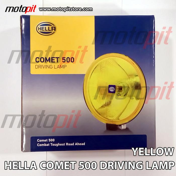 HELLA COMET 500 YELLOW DRIVING LAMP - Lampu Tembak Kabut Fog K