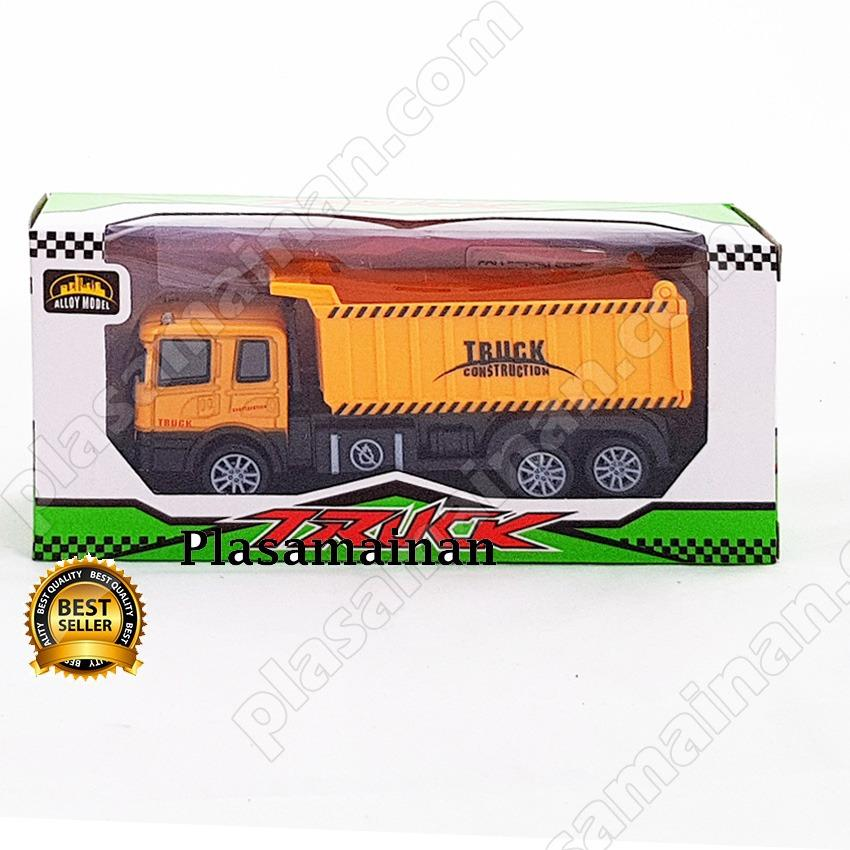 AA Toys Die Cast Truck Dump Mini Pull Back Series