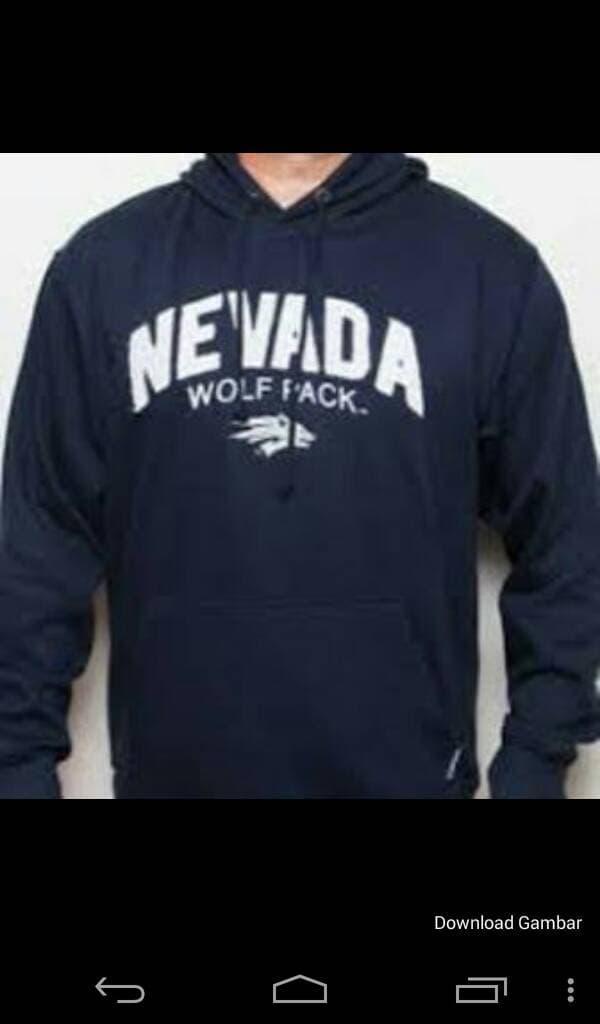 sweater/jaket/zipper/hoodie nevada wolfpack (navy) - AZtPyU