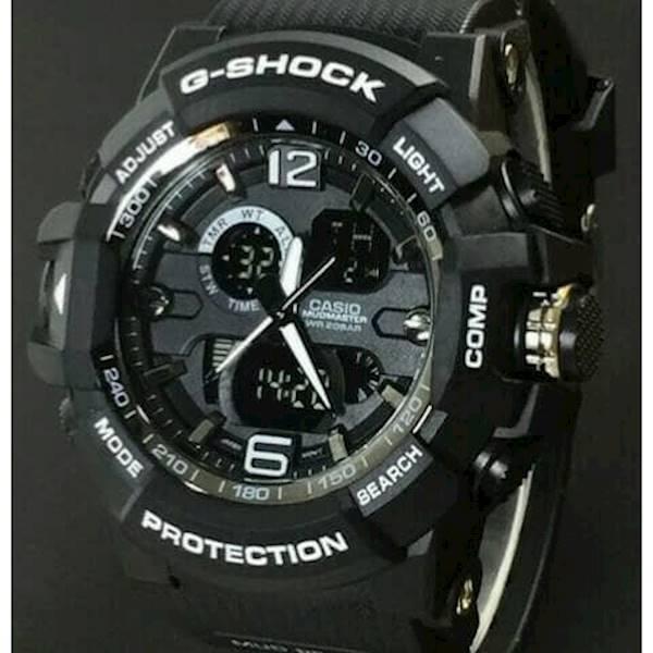 Jam Tangan Pria Casio Gshock Gwa-1100 Black Silver - Ryenim