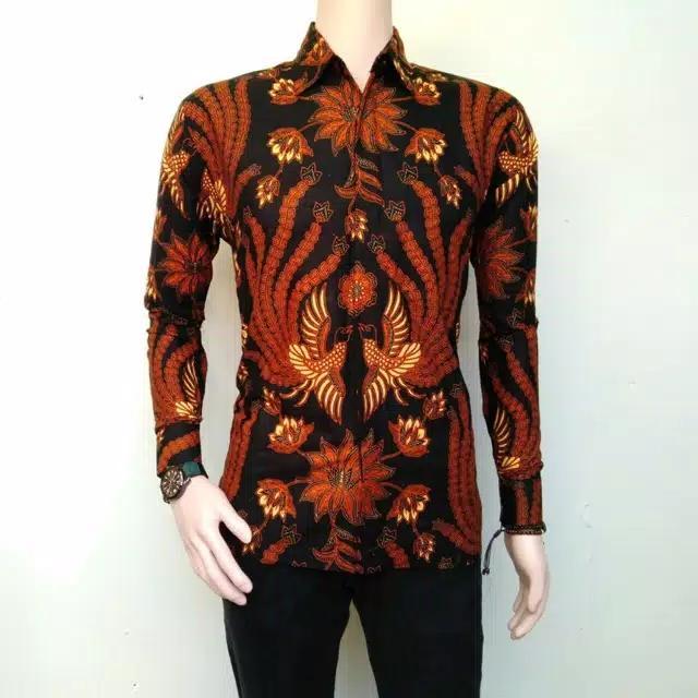 kemeja batik pria BATIK PEKALONGAN- Kemeja Lengan Panjang Batik Eksklusif  Baju Batik Pekalongan 2cb0032e08