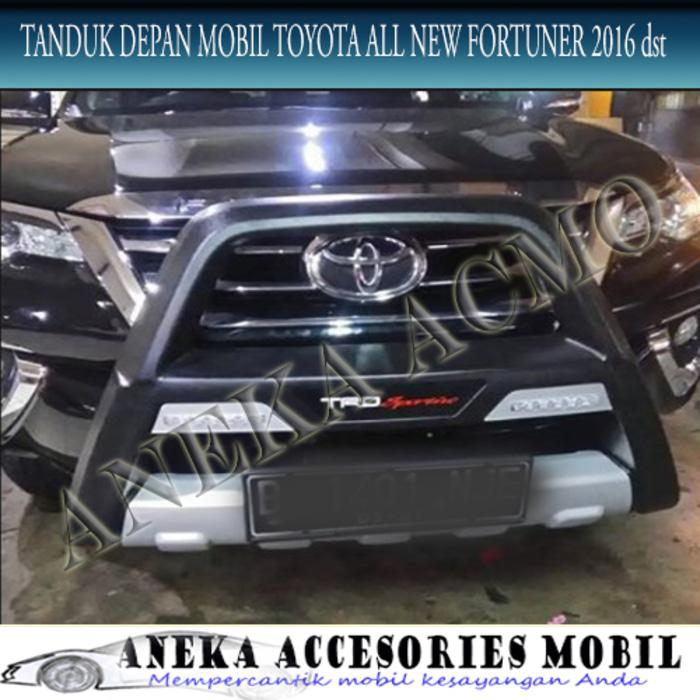 Tanduk Depan / Front Bumper With DRL Luxury Toyota All New Fortuner