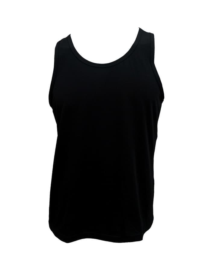 HOT SPESIAL!!! Mr.W Sleeveless Shirt - WMS 70000B - Isi 3pcs - PUTIH WWW, M