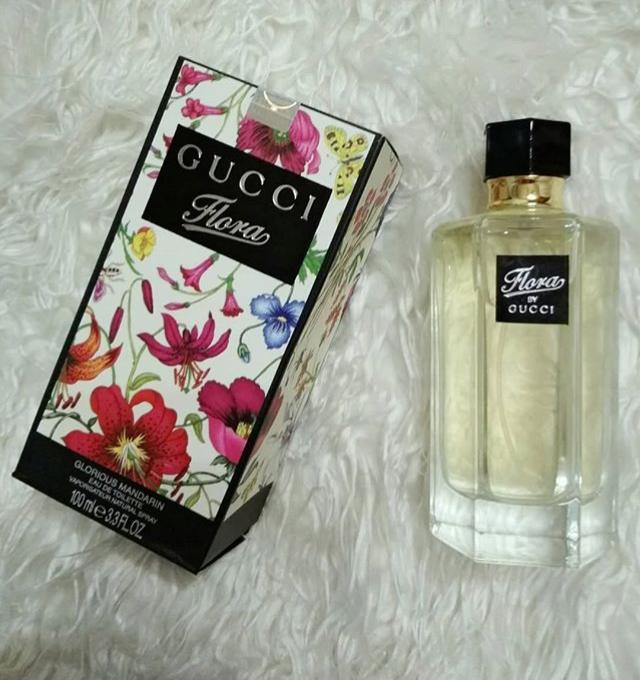 PARFUM WANITA GUCCl FLORA Gardenia IMPORT ORINGINAL SINGAPORE (REAL PICTURE) EDP 100 ML / BAYAR DI TEMPAT